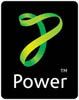 Power logo square